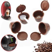4Pcs/Set Coffee Capsule With 1PC Plastic Spoon Refillable Coffee Capsule - $5.99