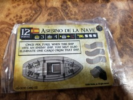 Pirates of the Spanish Main Asesino De La Nave GS-004 Wizkids sealed - $13.85