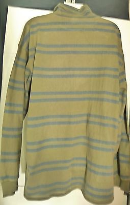 Vintage Banana Republic Extra Large XL Top Shirt Striped Stripes Cotton 80's