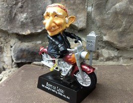 NWT 2003 COOTS old man loser on 25 cent kid arcade motorcycle figure mis... - $21.77