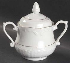 Coffee Pot Sugar w/ Lids & Creamer Golden Rhapsody Southington Baum Bros... - $90.00
