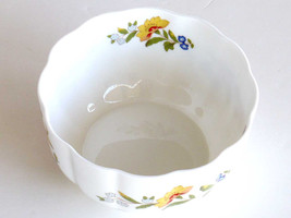 Porcelain Bowls, Cottage Garden, Bone China, By Aynsley, Made in England... - $12.00