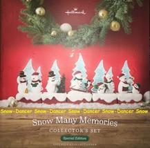 Hallmark 2018 Snow Many Memories Special Edition Collector's Set 10 Pieces - $129.99