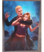Buffy The Vampire Slayer vs Spike Glossy Print ... - $24.99
