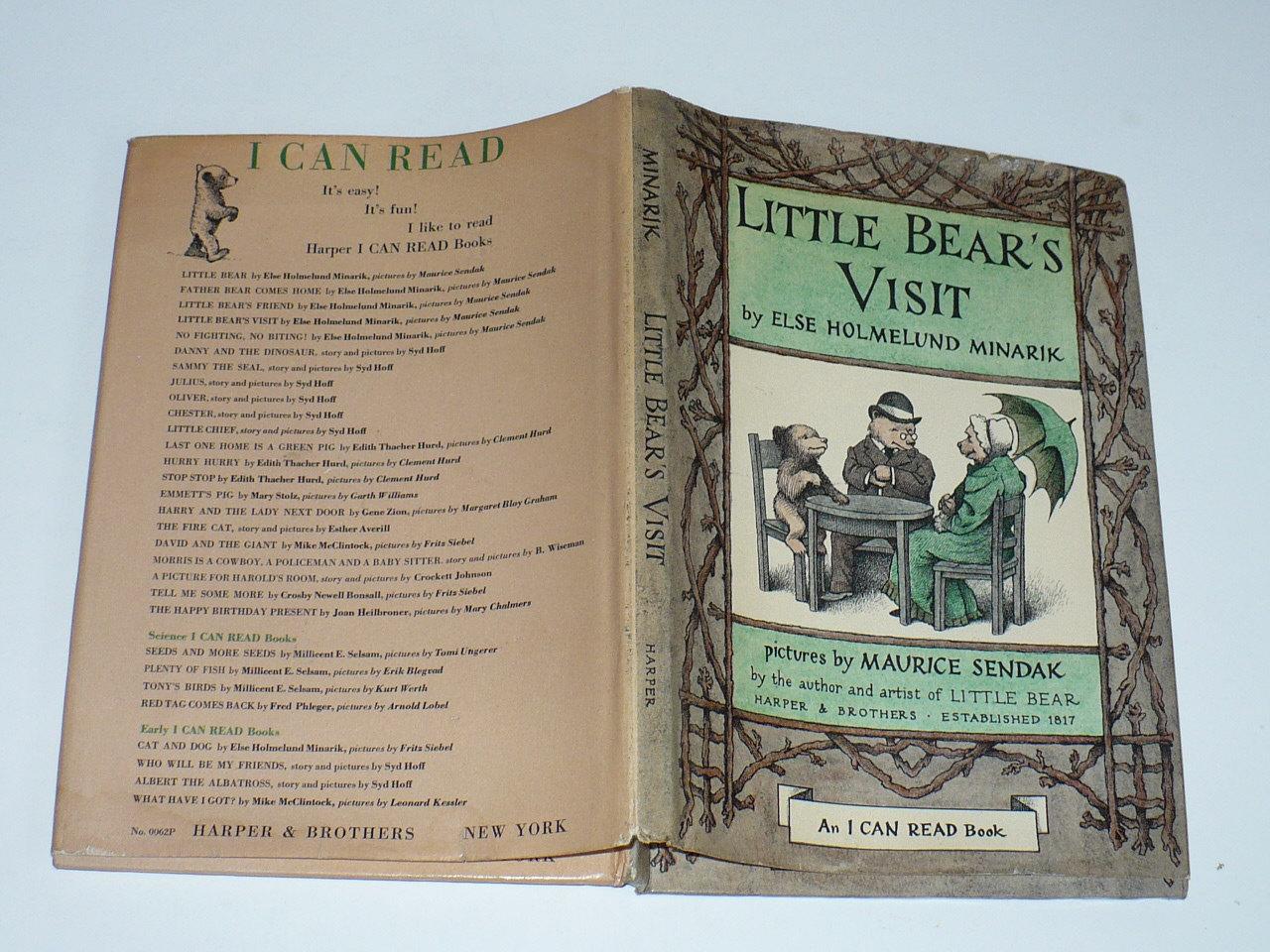 Else Holmelund Minarik, Little Bears Visit, Maurice Sendak, Harper Bros 1961,