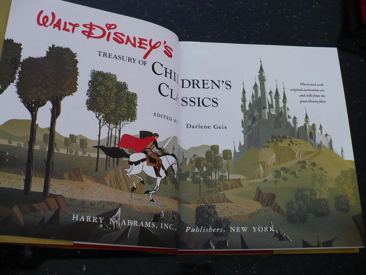 Walt Disney's Treasury of Children's Classics, 1978, Books, Children's Books,