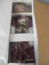 """Heritage Signature Collection 16"""" porcelain Christmas doll w/lighted wre... - $29.65"""