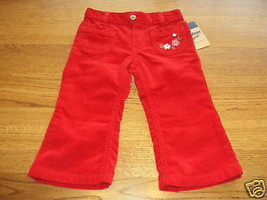 Osh Kosh B'gosh girls 24M pants corduroy NWT 26.00 ^^ - $13.85