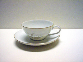 "KAYSONS FINE CHINA  CUP & SAUCER SET "" GOLDEN RHAPSODY"" NEW! - $4.90"