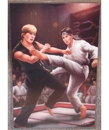 Karate Kid Daniel Larusso vs Johnny Glossy Print 11 x 17 In Hard Plastic... - $24.99