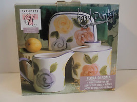 Tabletops Unlimited   Flora Di Roma 4 PC Tabletop Set  - $9.90