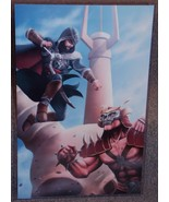 Assassins Creed Ezio vs Mortal Kombat Shao Kahn Glossy print 11 x 17 In ... - $24.99