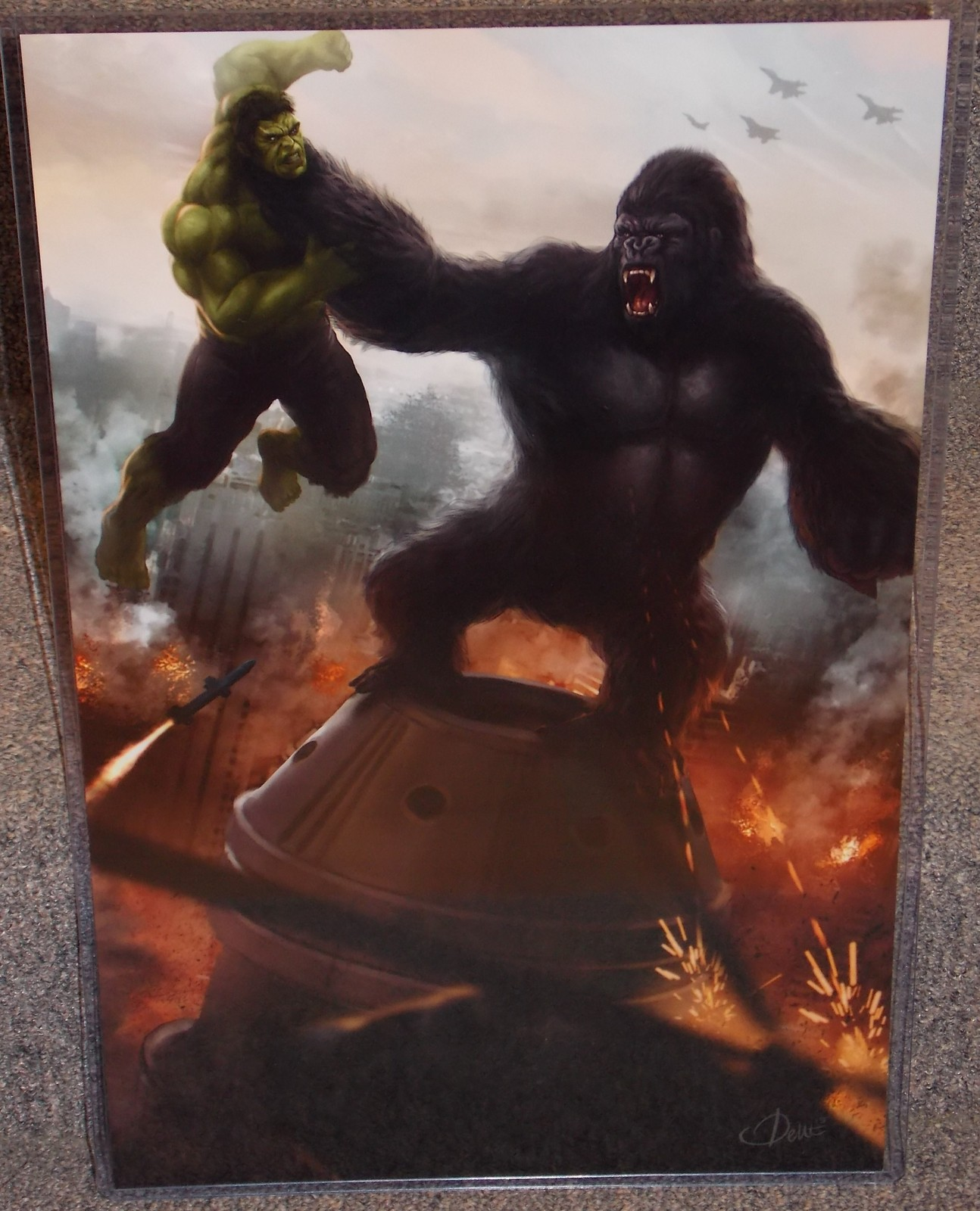 King Kong Vs Hulk Movie King Kong vs The Incre...