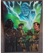 Ghostbusters & Star Wars Glossy Print 11 x 17 In Hard Plastic Sleeve - $24.99