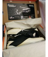 Nike Super Speed D, 396238 001 Football Cleats, Black/White New in Box - $12.82