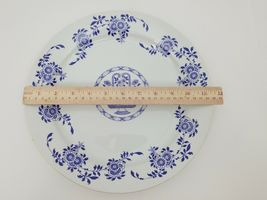 "Diamondstone Laveno White Chop Plate / Platter Ceramic Made in Italy 11.5"" image 7"