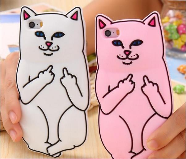c6867039c6a1e3 3D Soft Cat Case For Iphone 6 6s Plus 5 5s and 48 similar items. Cat1
