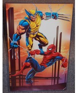 Spider-Man vs Wolverine Glossy Print 11 x 17 In... - $24.99