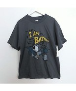 NWT Family Guy Brian I am Batman graphic t-shirt in dark gray adult size... - $27.99