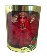 Happy Holidays Barbie 1993 Special Edition Model 10824 NRFB Some Box Damage - $21.77