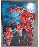 Marvel Spider-Man vs Carnage Glossy Print 11 x ... - $24.99
