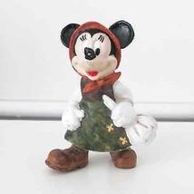 Vintage Disney Minnie Mouse rubbery figurine Bu... - $34.98