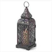 Moroccan Tower Candle Lantern - $15.89