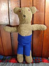 "TEDDY BEAR Handmade Big Brown Stuffed Animal Toy 25"" Tall Soft Plush Dur... - $32.62"