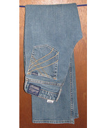 Signature Levi Strauss Low Rise Slim Boot Cut Blue Jeans Size Juniors 13 - $14.99