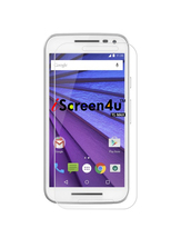 iScreen4u Moto G 3Rd Gen Ultra-Thin Tempered Glass Screen Protector - $14.99