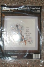 Janlynn Counted Cross Stitch Kit Life is a Song #80-24 - $12.50