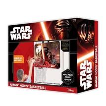 Star Wars Hangin Hoops Over The Door Indoor Basketball Game w/ Movie Sou... - $19.58