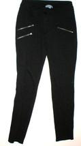 Women Athleta Moto Twill Pant Skinny Zip Black ... - $149.00