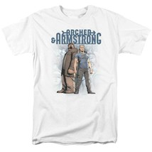Archer & Armstrong T Shirt Valiant Comics 1990s comic book graphic tee VAL208 image 1