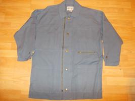 Blue long sleeve quater length jacket Light Blue long sleeve cotton jack... - $17.09