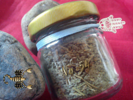 No 54 Protection incense. For safety, confidence, empowerment, overcome obstacle - $19.99