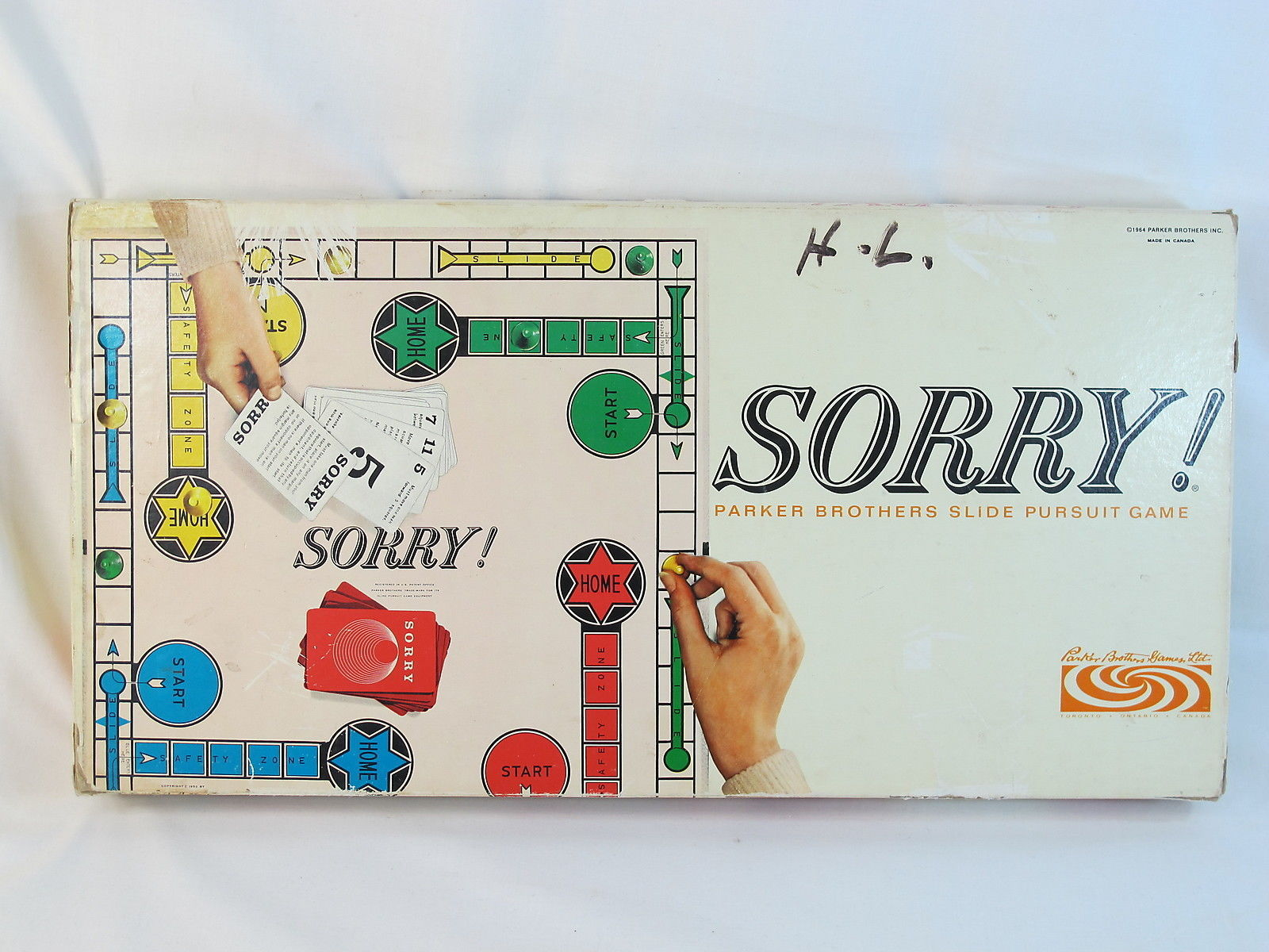 Parker Brothers Sorry Board Game 1960s 3 Listings