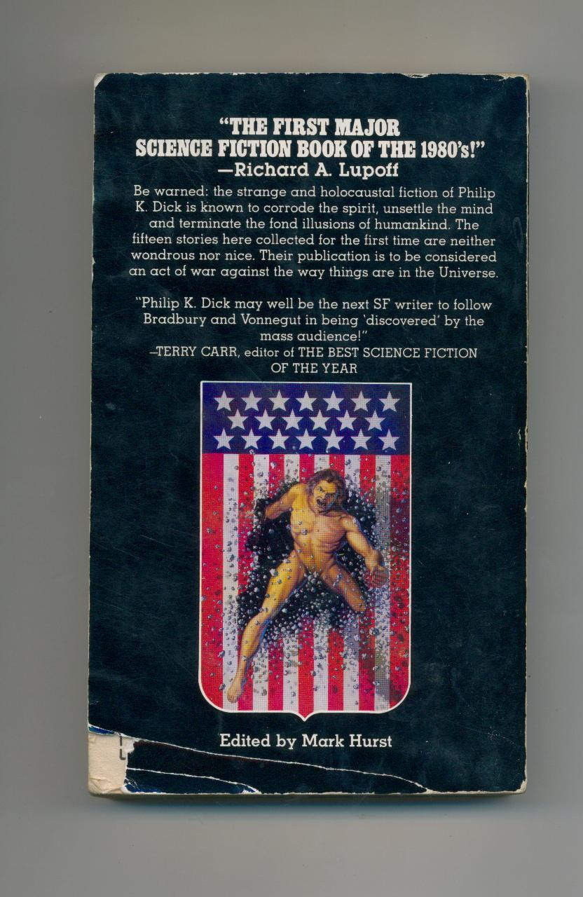 Philip K. Dick  THE GOLDEN MAN  1980  1st pr.  15 stories