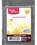 All That Glitters Better Homes and Gardens Wax Cubes Scented Tarts Melts Sparkle - $3.00