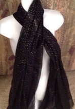 Fashion Scarf Ladies New Target Limited Edition Black Gold Dot - £12.05 GBP
