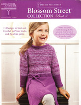 Blossom Street Collection Book 3 Crochet Knit Patterns Knitting Baby Hat... - $8.70