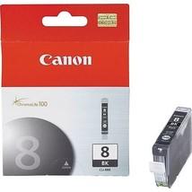 Canon CLI-8BK Black Ink Cartridge 0620B002 BJC-450D PIXMA iP4200 iP4300 ... - $32.62