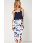 Fashionable Floral Print Pencil Skirt Sizes 8, 10, 12 Brand NEW - $18.15