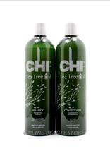 CHI Tea Tree Oil Shampoo& Conditioner 25.fl.Oz - $47.49