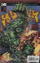 Marvel THE INCREDIBLE HULK (2000 Series) #74 VF - $1.29