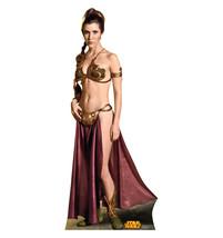 Princess Leia Slave Star Wars Retouched Cardboard Standup Standee Cutout 1804 - $39.95