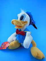 "Disney Donald Duck plush Applause in sailor suit 16"" 11"" sitting Mint Wi... - $15.25"
