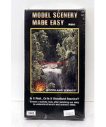Woodland Scenics~R993~VHS Video~Model Scenery Made Easy~Sealed~NOS~OOP - $10.00