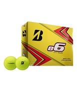 4 Dozen Bridgestone E6 Yellow Golf Balls - $79.95