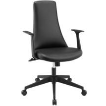 Fount Mid Back Vinyl Office Chair Modern office... - $201.96